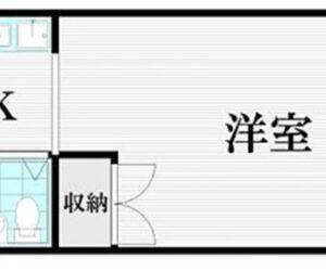スカイコート川崎第4 間取り